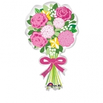 "Ballon en forme de bouquet ""for you"""
