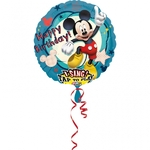 "Ballon d'anniversaire géant ""Mickey"" qui chante ""Happy Birthday"""
