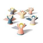 6 mini anges à découper (cartes postales et déco)