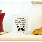 Mug aux super pouvoirs contre les cernes de panda
