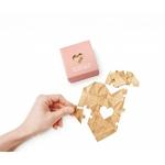"""Carte-puzzle romantique """"toi mon amour"""""""