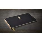 Grand livre d'or noir et or