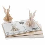 """Carte puzzle 3D """"petit ange"""" 6.5 cm"""