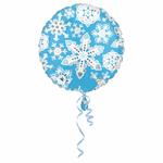 """Ballon de fêtes """"flocons de neige"""""""
