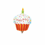 "Ballon ""Happy Birthday"" Cupcake"