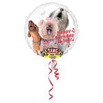 "Ballon d'anniversaire géant qui chante ""happy birthday"" en ""chien"""
