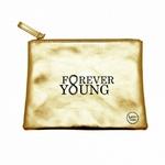 """Pochette dorée """"Forever young"""""""