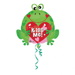 "Ballon Grenouille ""kiss me"""
