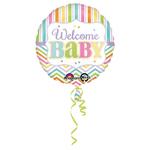 """Ballon naissance """"Welcome Baby"""""""