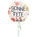 """Ballon gonflable """"bonne fête"""""""