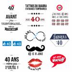 Tattoos du quadra (anniversaire 40 ans)