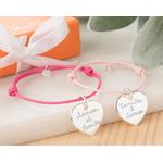 """Duo de bracelets """"mère - fille"""""""