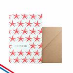 """Carte """"Félicitations"""" avec des étoiles"""
