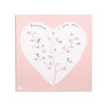 Affiche coeur à empreintes (kit affiche + 2 encreurs)