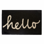 "Paillasson ""hello"" luminescent"