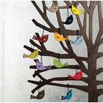 Décorations pour arbre en bois - oiseaux