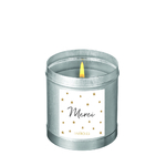 """Bougie parfumée """"Nuit blanche - Merci"""""""