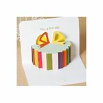 Carte d'anniversaire Pop up - cadeau 3D