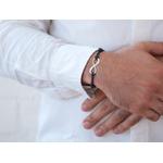 """Bracelet homme personnalisé """"amour infini"""""""