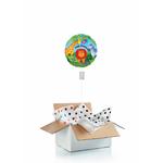 Ballon anniversaire enfant gonflé à l'hélium : animaux