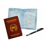 Passeport pour la nonantaine - livre d'or 90 ans