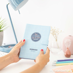 Agenda 2018-2019 Mr Wonderful petit format semainier - tout est possible