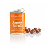 """Boite de chocolats """"100% pure Joyeuse retraite"""""""