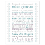 "Carte d'inspiration ""enfant charmant"""