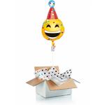 """Ballon surprise gonflé à l'helium """"c'est la fête"""""""