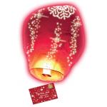 Lettre au père Noël via lanterne volante