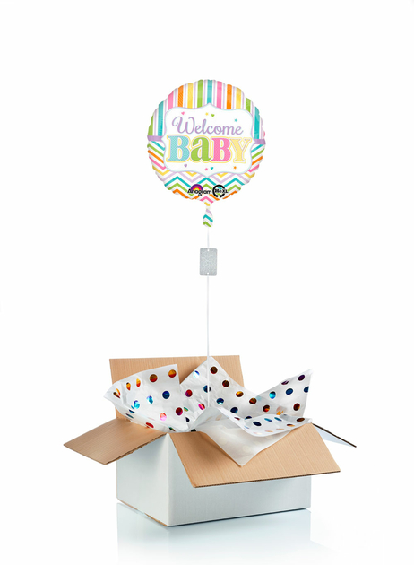 Ballon-helium-naissance-welcome-baby