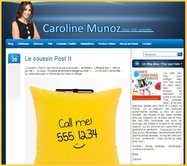 coussin post it