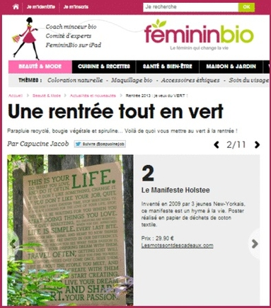 feminin bio poster this is your life