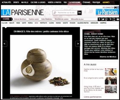 la parisienne boite de thé