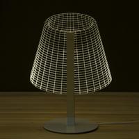 Lampe 3D Wood