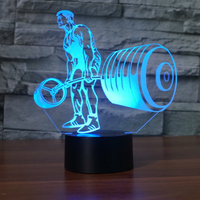 Lampe 3D Fitness