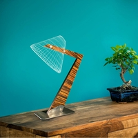Lampe 3D Triangle