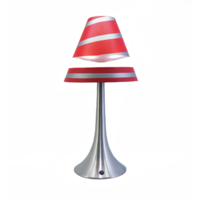 Lampe Astérion rouge