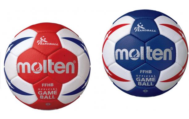 MOLTEN Ballon de handball FFHB COMPETITION HX5001