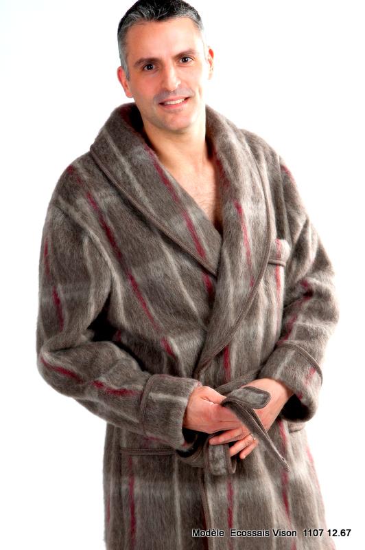a79daace858cc7 Robe de chambre écossaise