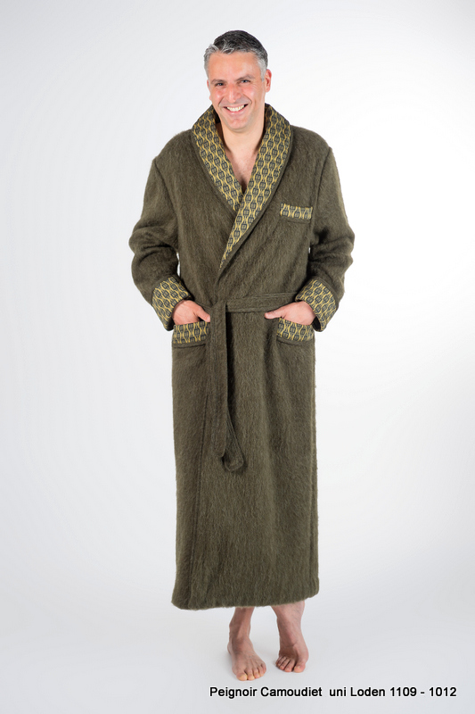 Robe De Chambre Modèle Camoudiet 100 Laine
