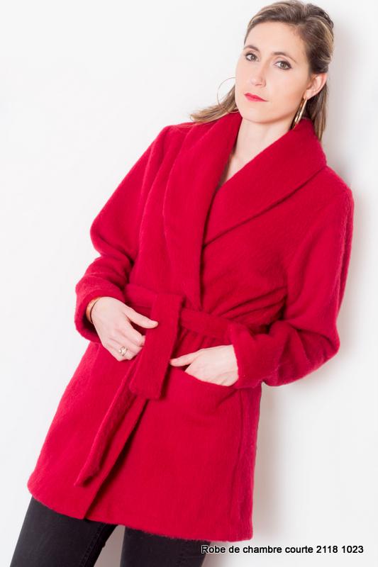 Veste d\'intérieur femme 100 % laine modèle Hauts de Germs