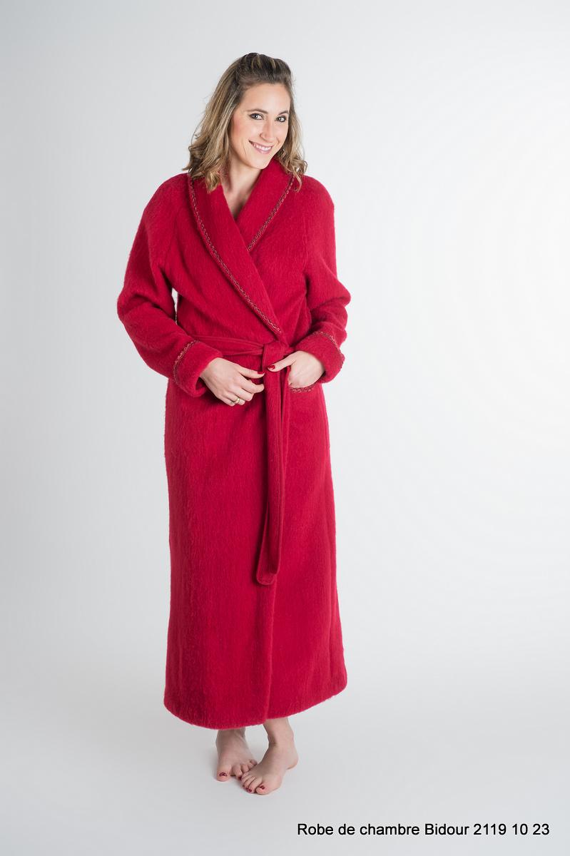 Robe de chambre crêtes de Bidour