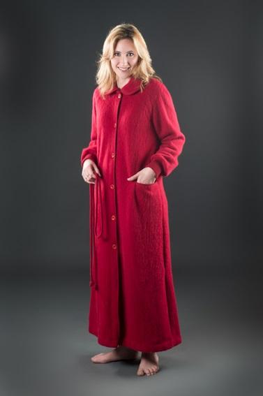 Robe de chambre unie ou écossaise Modèle Aygues Rouyes