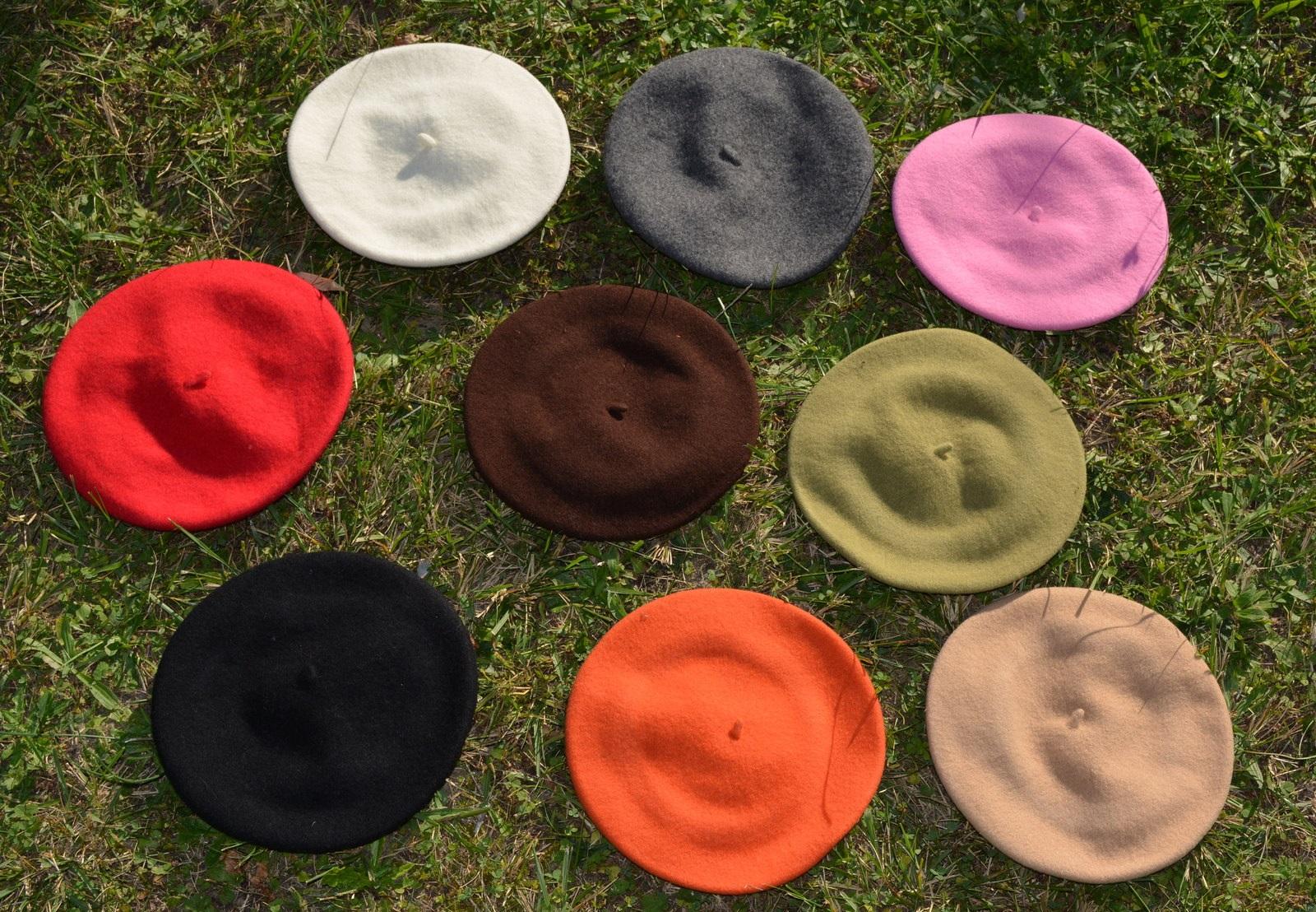 beret couleur