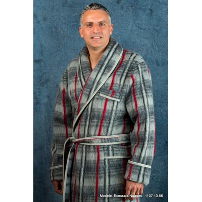 "Robe de chambre écossaise ""Sauguet"""