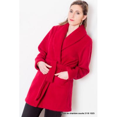 """Veste d'intérieur femme 100 % laine modèle """"Hauts de Germs"""""""