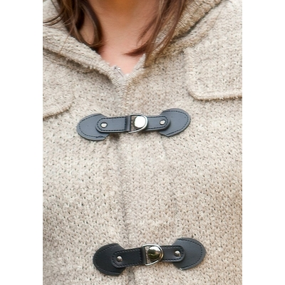9222 90.11 DUFFLE COAT DE GER DETAIL