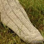 Jarrettes pure laine grosse co-te