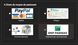 Moyens de paiment